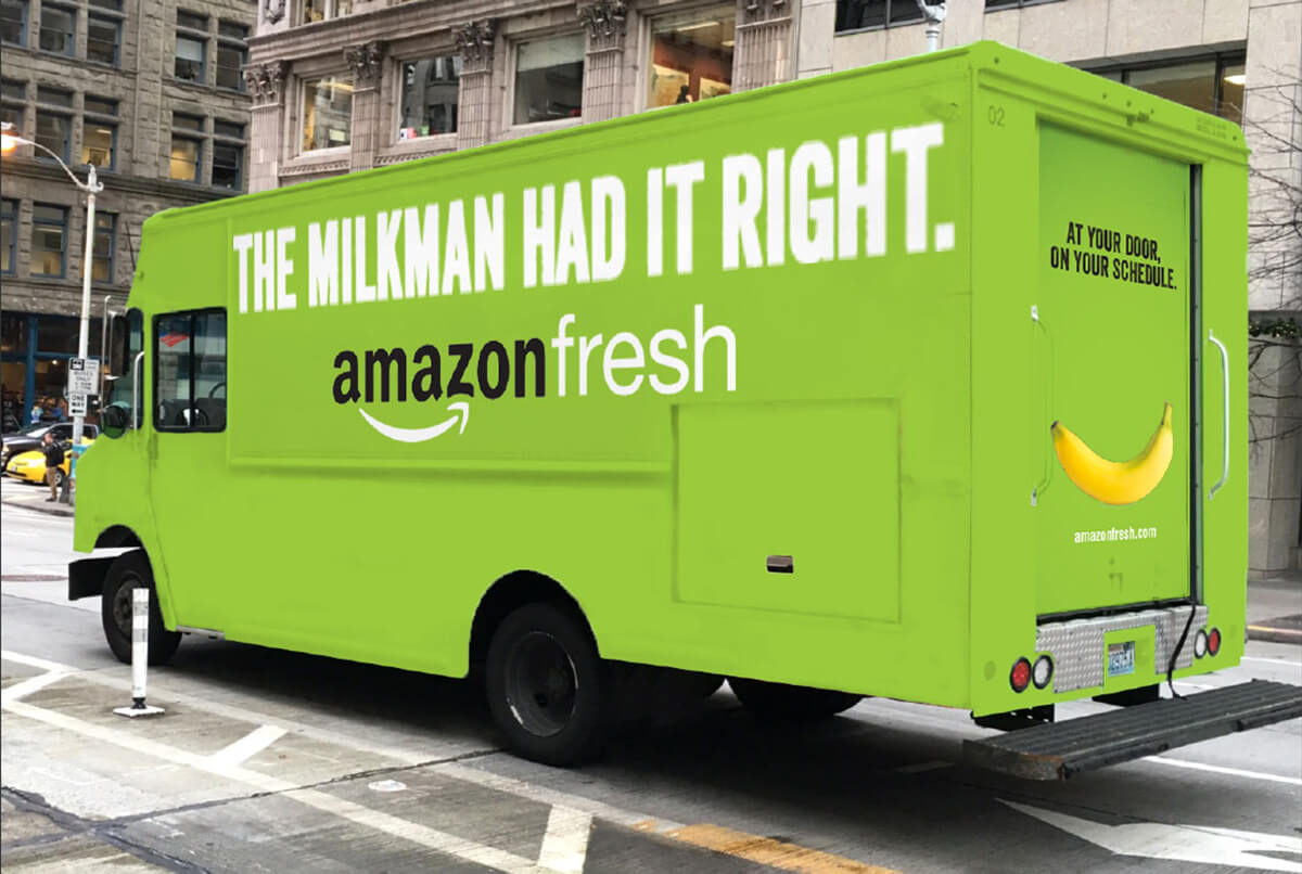 Amazon Fresh campaign concepts