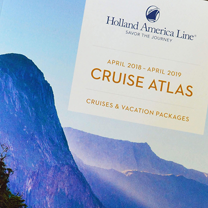 See my work for Holland America