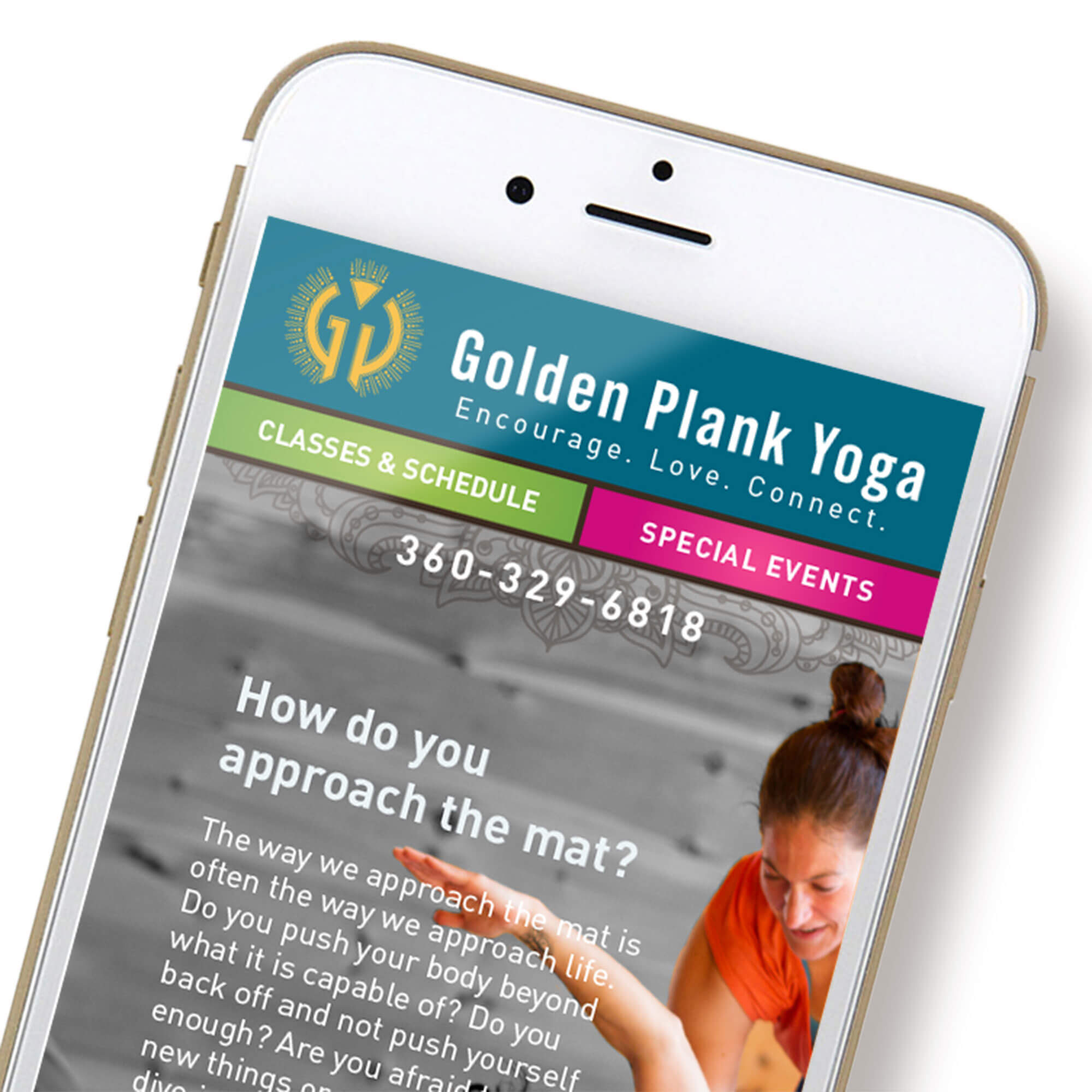 See my work for Golden Plank Yoga